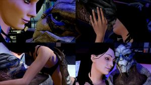 (Video) New Garrus Romance Scene - new animations by Ktr-Liane07