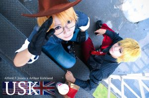 when cowboy meets gentlemen by kushiyaki-group