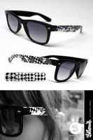 Checkers Glasses by Bobsmade