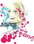 Anti Bullying T-shirt Design by danyl19