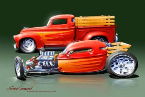 Hot Rod Evolution by GaryCampesi