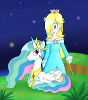 Celestial Princesses by Candy-Swirl