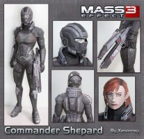 Shepard Papercraft Download by XenonRay