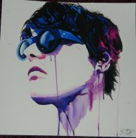 Gerard Way #artissmart by chemical-art13