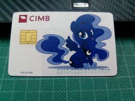 Woona ATM Card by MetalRenamon