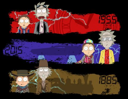 Morty to the future by Mr-Saxon