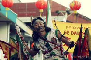 * Tatung in Action * by DhieckaLibra