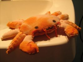 Crab Plush by poiuytre00750