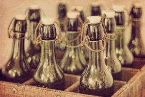 Old Bottles by Yasmins