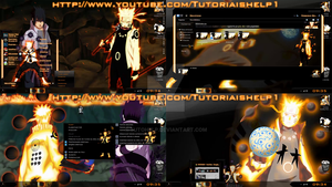 TEMA NARUTO RIKUDOU+EXTRAS WINDOWS 7 TUTOHELP by TUTOHELP
