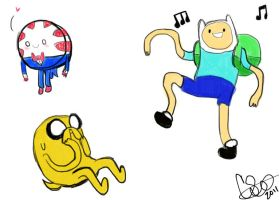Adventure Time Sketches by Celebi9
