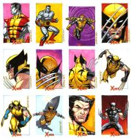 X-Men Archives Set 4 by ryanorosco