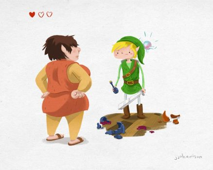 The Legend of Zelda: Heart Junkie by rismo