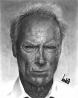 Clint Eastwood by LohranRocha