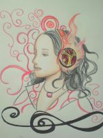 The girl who listen to music by trollera