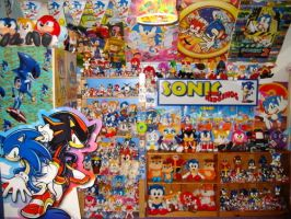 My Old Sonic Collection by MizukiiMoon