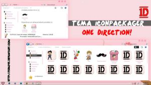 Theme IconPackager ONE DIRECTION- by isra245