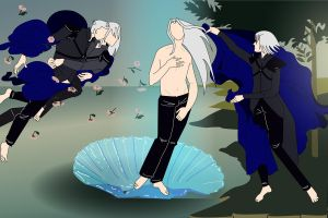 Birth of sephiroth by JuneMarsch