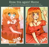 Draw this again Meme by Demachic