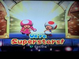 Toadette And Toad ~Flawless Victory~ by TheFactsOfLife