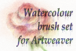 Artweaver watercolor brush set by dwsel