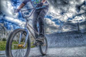 Hdr Bmx by hayleyonfire
