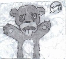 The Blarga Largy Bear by The5IsSi5lent