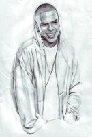 Chris Brown by nikiee