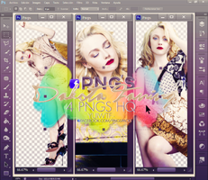 Pack Png Dakota Fanning by USucks