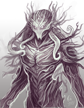 Gaian Concept Sketch by KeeperofAges