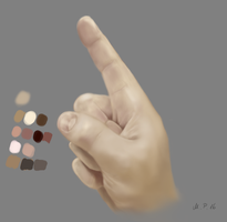 Hand painting color study by jayanam