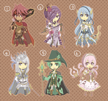 [CLOSED] - Birthstone gijinka auction 1 by crino-line