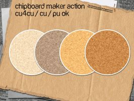 Chipboard Maker Action by slavetofashion69