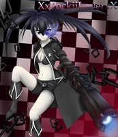 Black Rock Shooter by XxPockiiLoverxX