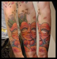 colour work from Janis Kinens by HammersmithTattoo