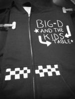 Big D and the Kids Table Hoodie Design by Karen73