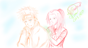 naruto and sakura in future by lil-artist5
