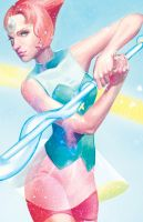 Pearlescent by CrystalGrazianoArt