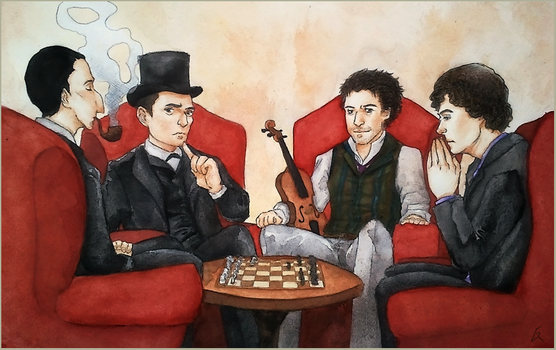 four detectives by mockingbee
