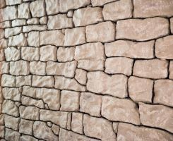 Rock Wall 1 - Side Perspective by CarolineRutland