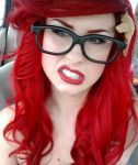 Hipster Ariel by TheRealLittleMermaid