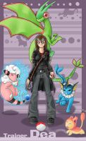 C: Pokemon Trainer Design by 2Dea