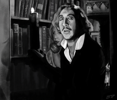 Young Frankenstein Study by CanisPanthera