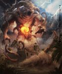 Sand giant chaos by LozanoX