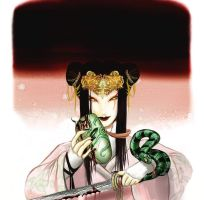 The Serpent Queen by drowned-ophelia
