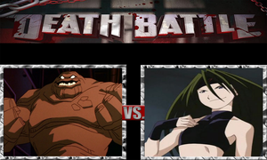 Clayface vs. Envy by ScarecrowsMainFan