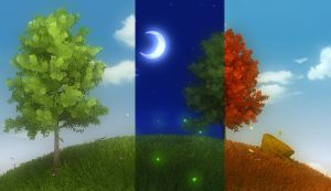 autumn in one night by gbrgraphix