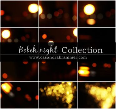 Bokeh Night Collection by MsCassyK-Stocks