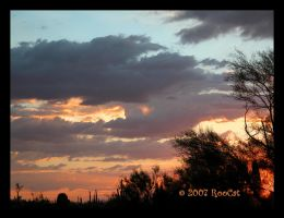 Almost Monsoon End Sunset by RooCat