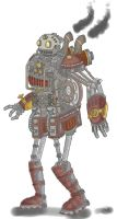 Steam Bot by Sans-Rival by Robot-drawing-club